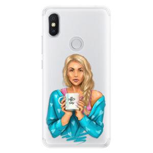 Silikónové puzdro iSaprio - Coffe Now - Blond - Xiaomi Redmi S2