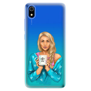 Odolné silikónové puzdro iSaprio - Coffe Now - Blond - Xiaomi Redmi 7A
