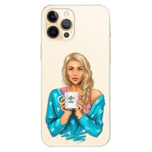 Plastové puzdro iSaprio - Coffe Now - Blond - iPhone 12 Pro