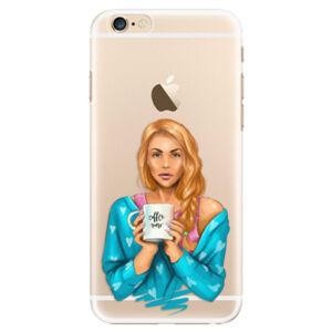 Plastové puzdro iSaprio - Coffe Now - Redhead - iPhone 6/6S
