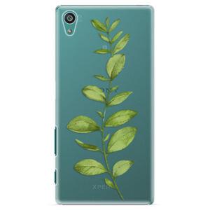 Plastové puzdro iSaprio - Green Plant 01 - Sony Xperia Z5