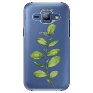 Plastové puzdro iSaprio - Green Plant 01 - Samsung Galaxy J1