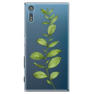 Plastové puzdro iSaprio - Green Plant 01 - Sony Xperia XZ