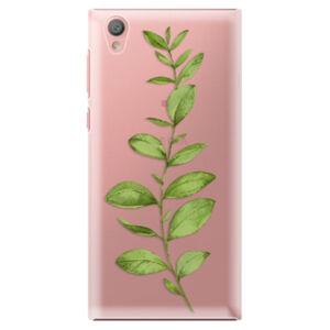 Plastové puzdro iSaprio - Green Plant 01 - Sony Xperia L1