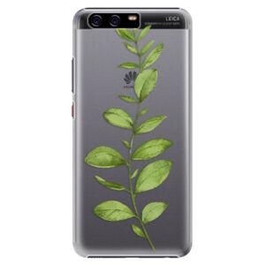 Plastové puzdro iSaprio - Green Plant 01 - Huawei P10 Plus
