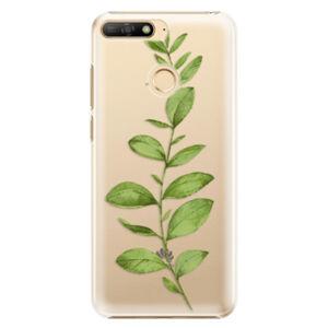 Plastové puzdro iSaprio - Green Plant 01 - Huawei Y6 Prime 2018
