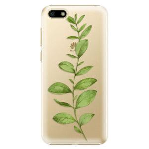 Plastové puzdro iSaprio - Green Plant 01 - Huawei Y5 2018
