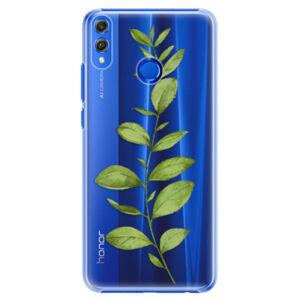 Plastové puzdro iSaprio - Green Plant 01 - Huawei Honor 8X
