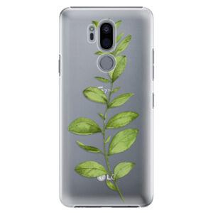 Plastové puzdro iSaprio - Green Plant 01 - LG G7