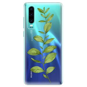 Plastové puzdro iSaprio - Green Plant 01 - Huawei P30