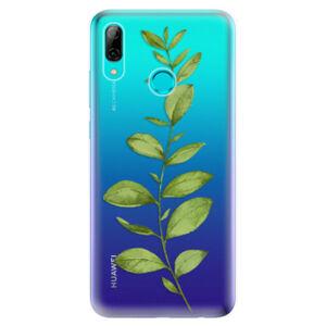 Odolné silikonové pouzdro iSaprio - Green Plant 01 - Huawei P Smart 2019
