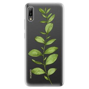 Odolné silikonové pouzdro iSaprio - Green Plant 01 - Huawei Y6 2019