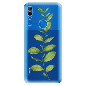 Odolné silikónové puzdro iSaprio - Green Plant 01 - Huawei P Smart Z
