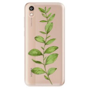 Odolné silikónové puzdro iSaprio - Green Plant 01 - Huawei Honor 8S