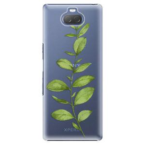 Plastové puzdro iSaprio - Green Plant 01 - Sony Xperia 10 Plus