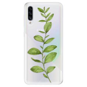 Odolné silikónové puzdro iSaprio - Green Plant 01 - Samsung Galaxy A30s