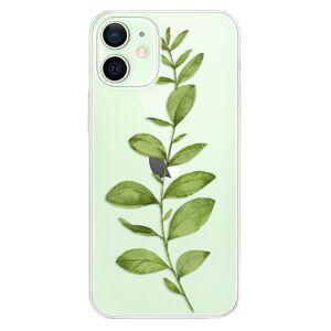 Odolné silikónové puzdro iSaprio - Green Plant 01 - iPhone 12