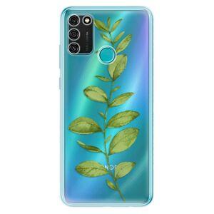Odolné silikónové puzdro iSaprio - Green Plant 01 - Honor 9A