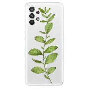 Odolné silikónové puzdro iSaprio - Green Plant 01 - Samsung Galaxy A32