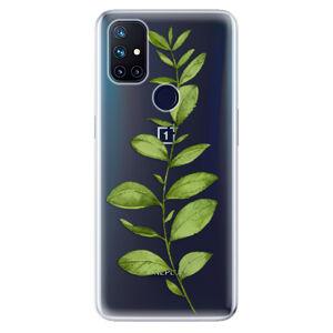 Odolné silikónové puzdro iSaprio - Green Plant 01 - OnePlus Nord N10 5G