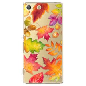 Plastové puzdro iSaprio - Autumn Leaves 01 - Sony Xperia M5