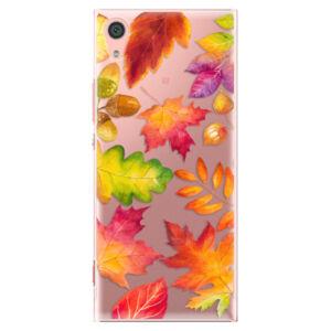 Plastové puzdro iSaprio - Autumn Leaves 01 - Sony Xperia XA1