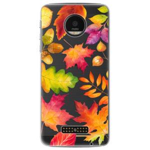 Plastové puzdro iSaprio - Autumn Leaves 01 - Lenovo Moto Z