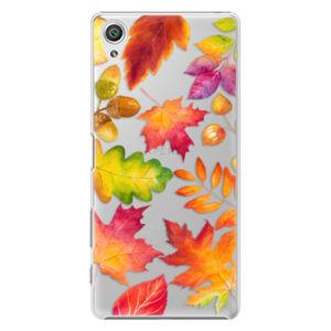 Plastové puzdro iSaprio - Autumn Leaves 01 - Sony Xperia X