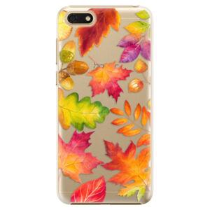 Plastové puzdro iSaprio - Autumn Leaves 01 - Huawei Honor 7S