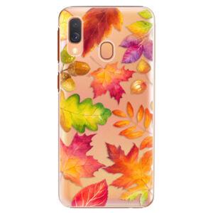 Plastové puzdro iSaprio - Autumn Leaves 01 - Samsung Galaxy A40