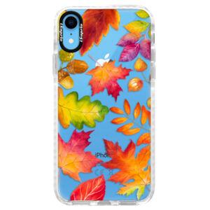 Silikónové púzdro Bumper iSaprio - Autumn Leaves 01 - iPhone XR