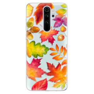 Odolné silikónové puzdro iSaprio - Autumn Leaves 01 - Xiaomi Redmi Note 8 Pro