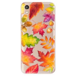 Odolné silikónové puzdro iSaprio - Autumn Leaves 01 - Huawei Honor 8S