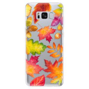 Odolné silikónové puzdro iSaprio - Autumn Leaves 01 - Samsung Galaxy S8