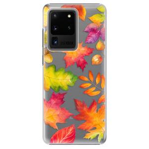 Plastové puzdro iSaprio - Autumn Leaves 01 - Samsung Galaxy S20 Ultra