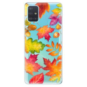 Odolné silikónové puzdro iSaprio - Autumn Leaves 01 - Samsung Galaxy A51