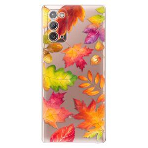 Odolné silikónové puzdro iSaprio - Autumn Leaves 01 - Samsung Galaxy Note 20