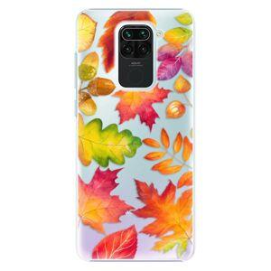 Plastové puzdro iSaprio - Autumn Leaves 01 - Xiaomi Redmi Note 9