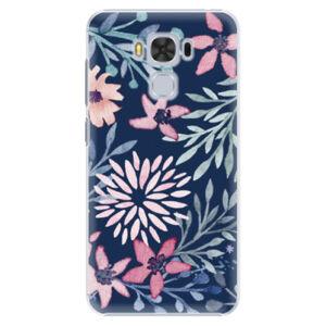 Plastové puzdro iSaprio - Leaves on Blue - Asus ZenFone 3 Max ZC553KL
