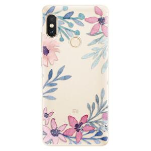 Silikónové puzdro iSaprio - Leaves and Flowers - Xiaomi Redmi Note 5