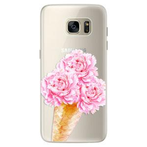 Silikónové puzdro iSaprio - Sweets Ice Cream - Samsung Galaxy S7