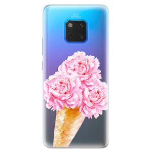 Silikónové puzdro iSaprio - Sweets Ice Cream - Huawei Mate 20 Pro
