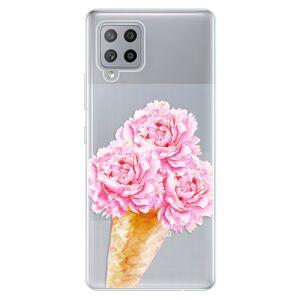 Odolné silikónové puzdro iSaprio - Sweets Ice Cream - Samsung Galaxy A42
