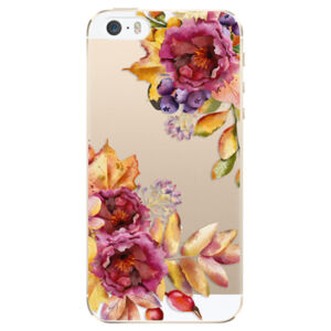 Plastové puzdro iSaprio - Fall Flowers - iPhone 5/5S/SE