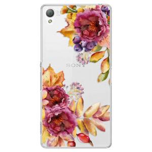 Plastové puzdro iSaprio - Fall Flowers - Sony Xperia Z3