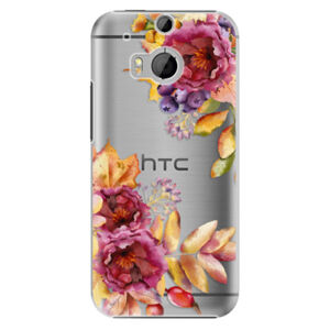 Plastové puzdro iSaprio - Fall Flowers - HTC One M8