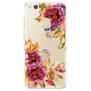 Plastové puzdro iSaprio - Fall Flowers - Huawei P10 Lite