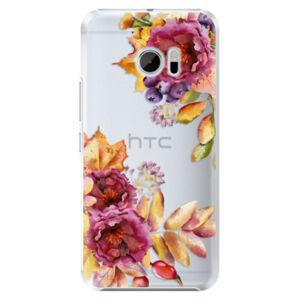 Plastové puzdro iSaprio - Fall Flowers - HTC 10