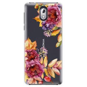Plastové puzdro iSaprio - Fall Flowers - Nokia 3.1