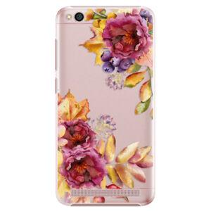 Plastové puzdro iSaprio - Fall Flowers - Xiaomi Redmi 5A